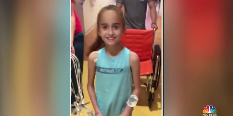 11-year-old who captured hearts online receives a heart of her own