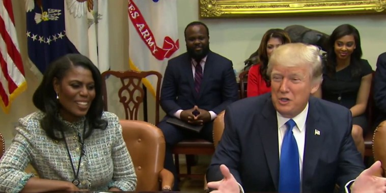 Trump lashes out at Omarosa on Twitter