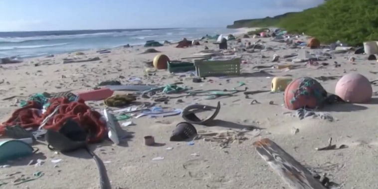 Ocean pollution creates tides of trash on beaches around the world