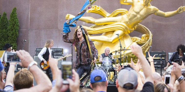 See Aerosmith sing 'Sweet Emotion' live on TODAY
