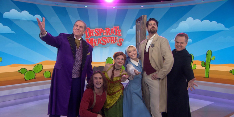 See the cast of musical 'Desperate Measures' perform live on TODAY