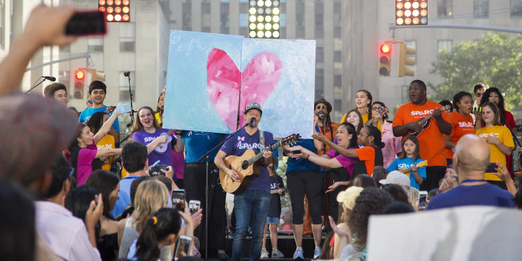 See Jason Mraz perform 'I'm Yours' live on TODAY