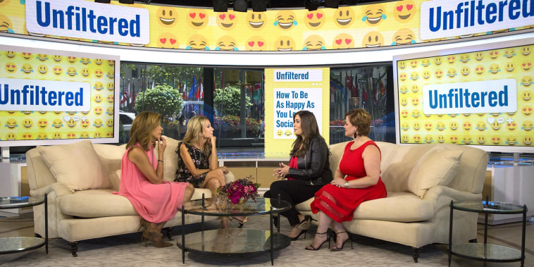 KLG and Hoda learn how to be happy on and off social media