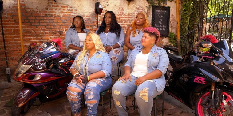 Meet the 13 fearless women of the Caramel Curves Motorcycle Club