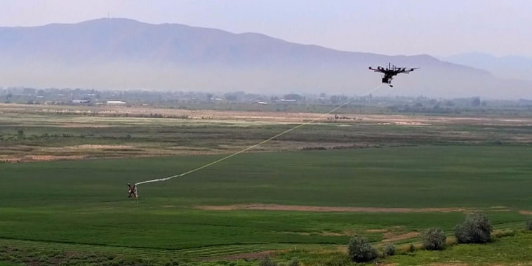 Rossen reports exclusive: 'drone hunter' captures enemy targets before attacks