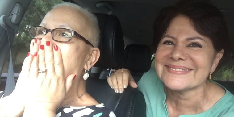Neighbors help Florida woman celebrate final chemo treatment