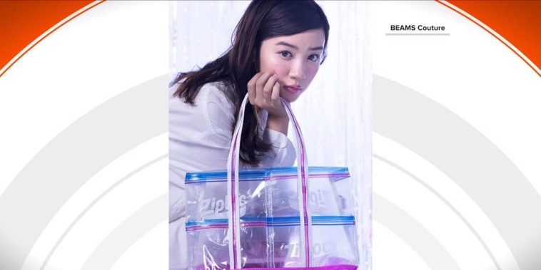 Social media is buzzing over this Ziploc-inspired fashion line