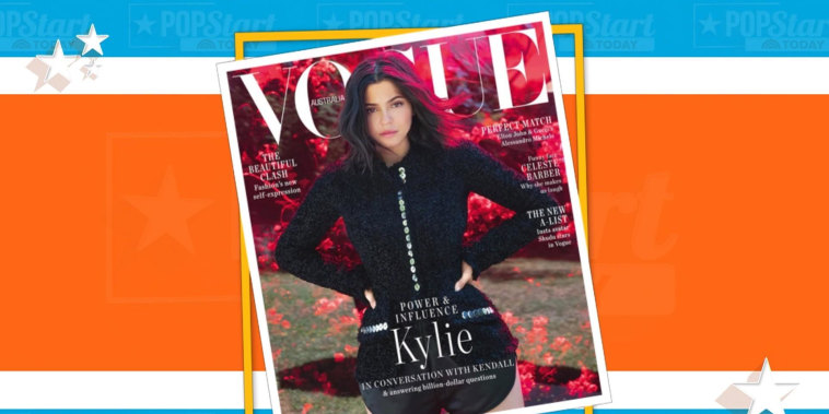 Kylie Jenner tells Vogue Australia how her lips insecurity led to a makeup empire