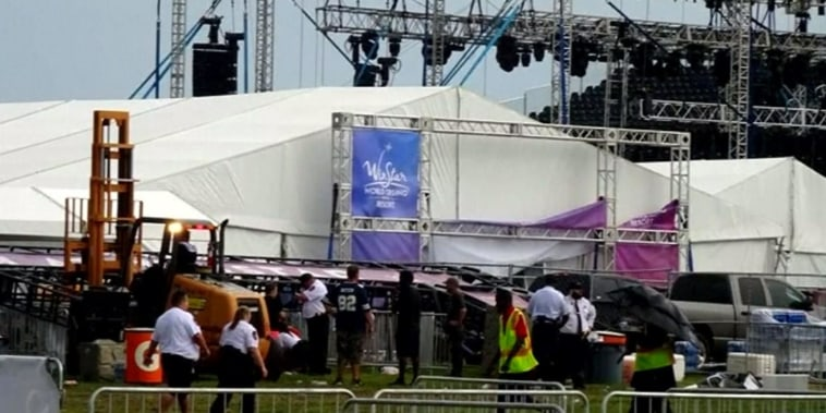 Backstreet Boys concertgoers injured as wild weather tears through venue
