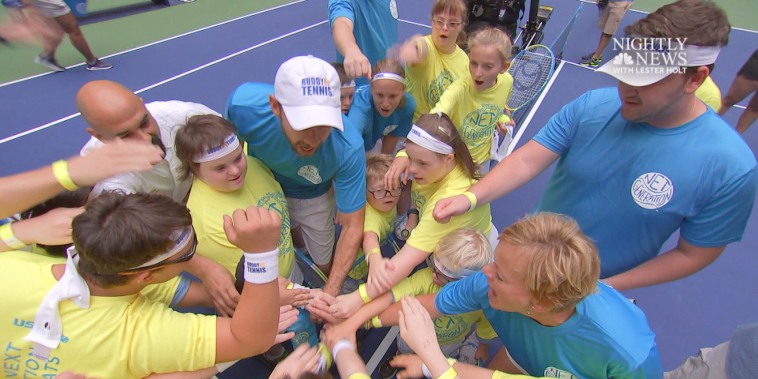 Buddy Up Tennis serves up fitness, friendship and the chance of a lifetime to play at U.S. Open