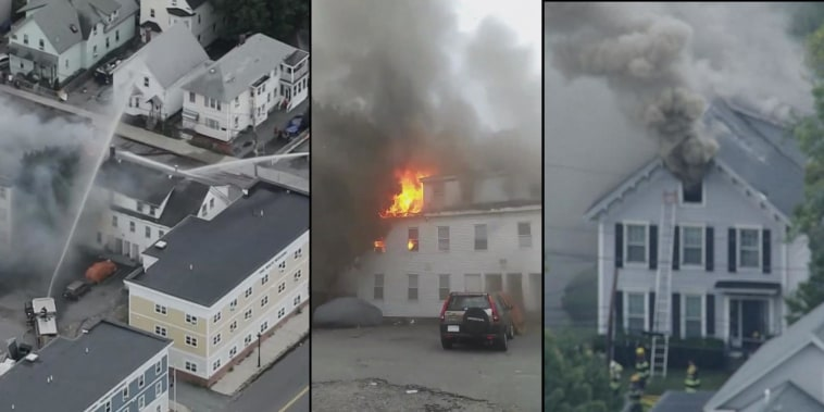 9,000 homes and businesses still without gas after Lawrence, MA gas explosion