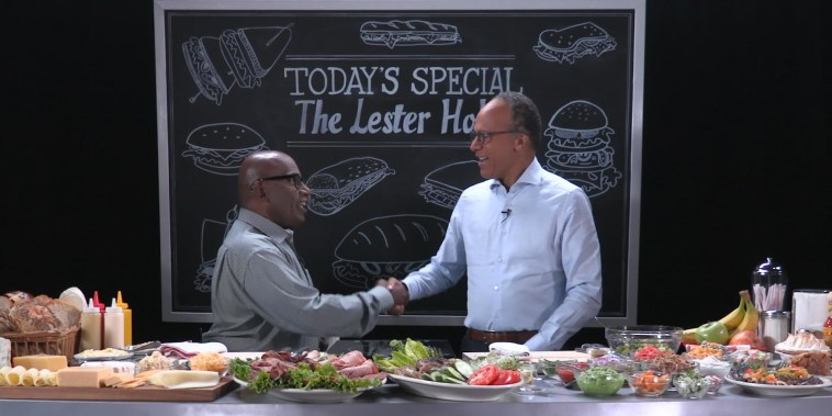 COLD CUTS with Al Roker: Lester Holt