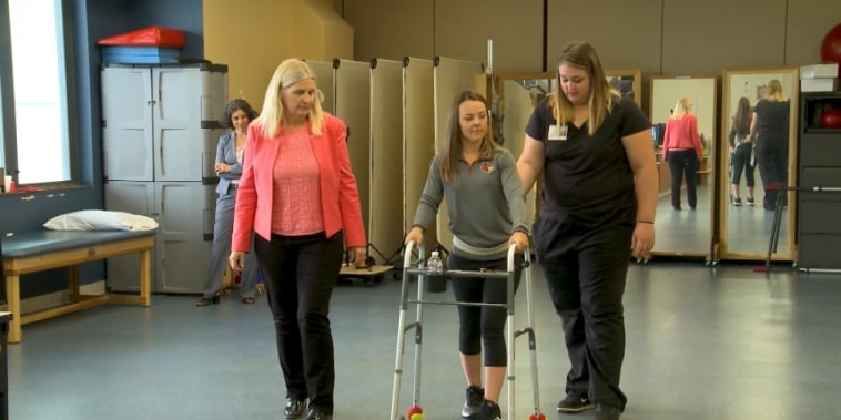 Walking again: Spinal research pays off