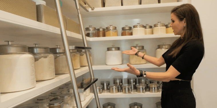 Crazy Kitchens: Heather Dubrow's hyper-organized pantry was inspired by Khloe Kardashian