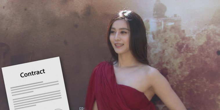 Chinese actress Fan Bingbing missing amid reports of government probe