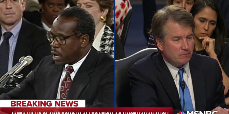 Kavanaugh allegation echoes Anita Hill bombshell