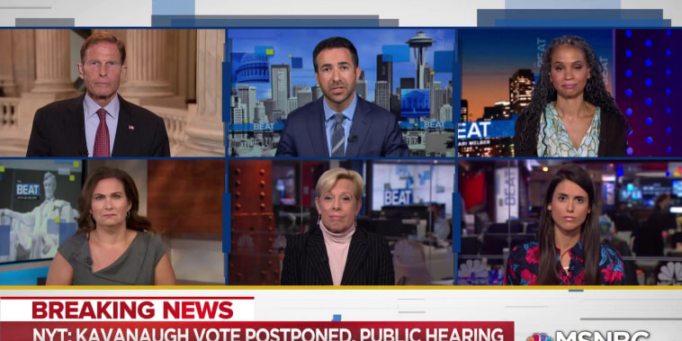 Sen. Blumenthal: Kavanaugh will cast a 'stain' on Supreme Court