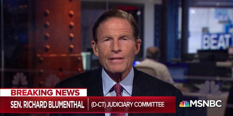 Sen. Blumenthal: Manafort guilty plea would affirm Mueller probe