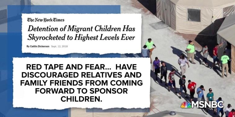 Humanitarian crisis: Trump detains record number of migrant kids