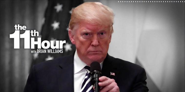 Fmr. DOJ Spox: Trump is using presidential power to help himself