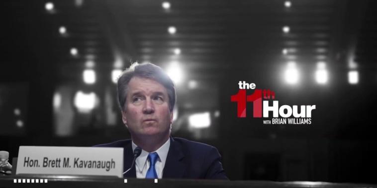 Senate wants Trump SCOTUS pick Kavanaugh & his accuser to testify