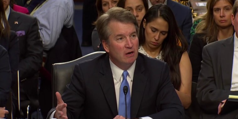 SCOTUS nominee Kavanaugh denies sexual assault allegations