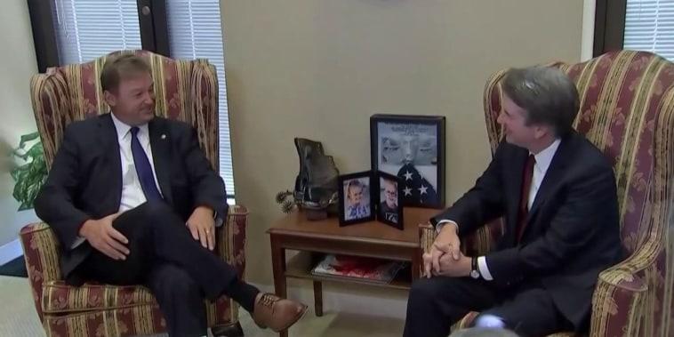 Senate Republicans hope to vote on Kavanaugh by end of week
