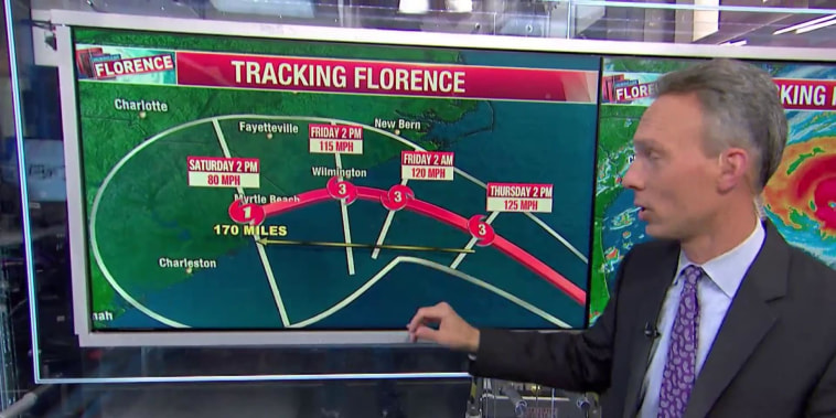 National Weather Service calls Florence 'storm of a lifetime'