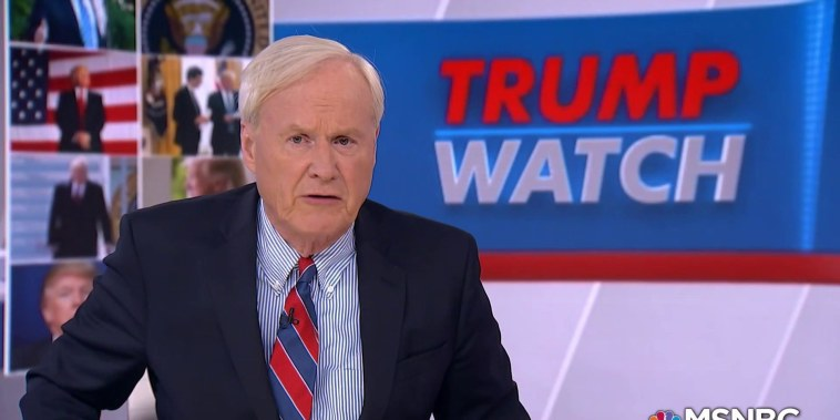 Matthews: Trump gave himself an A, but voters give out grades