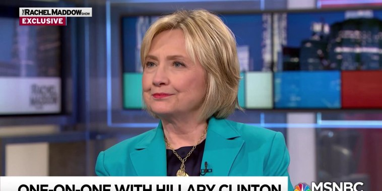 Clinton expresses concern for future of US democracy under Trump