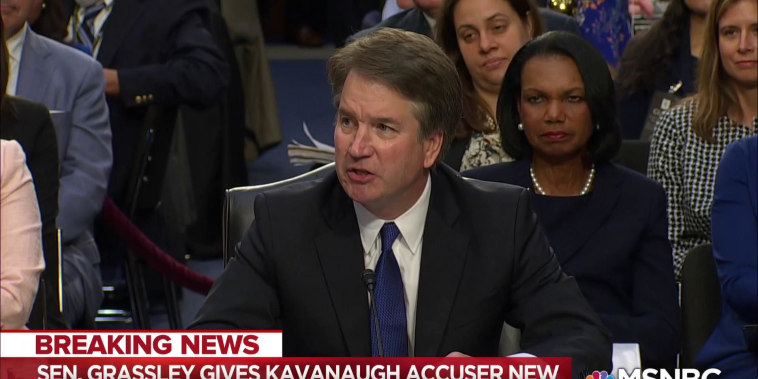 Republicans play deadline games with Kavanaugh accuser