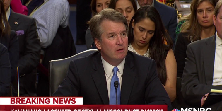 Letter accusing Kavanaugh of sexual assault roils confirmation
