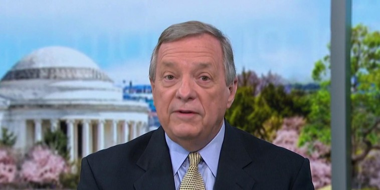 Stop and postpone Kavanaugh vote, says Sen. Durbin
