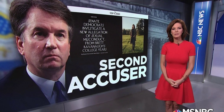 A second woman accuses Brett Kavanaugh of sexual misconduct