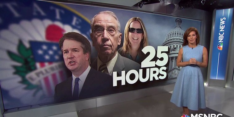 Christine Blasey Ford on the clock to make decision to testify