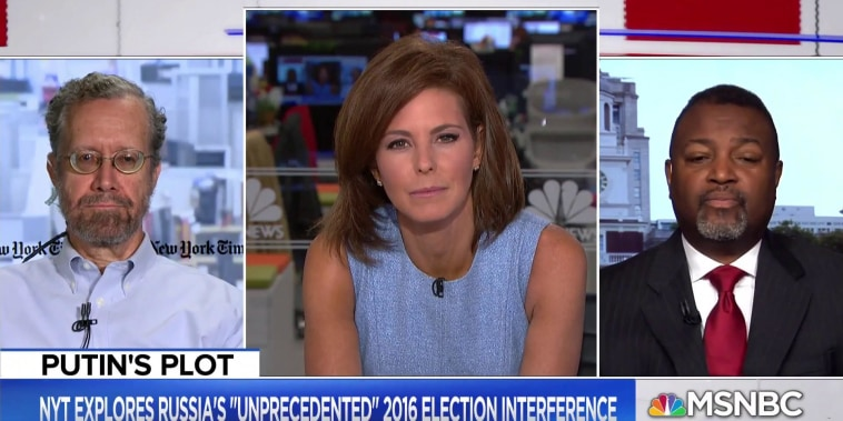 Connecting Russian election involvement and the Russia probe