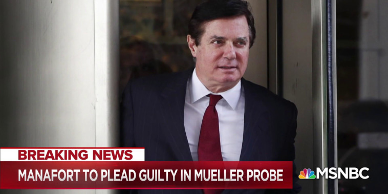 Paul Manafort expected to plead guilty in Mueller probe