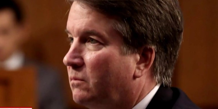 Trump stays in Kavanaugh's corner as accuser mulls decision to testify