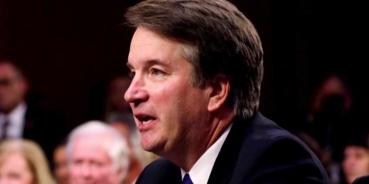 'The dam has finally broken:' Trump goes after Kavanaugh accuser
