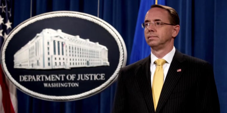 Deputy AG Rod Rosenstein still has his job, but for how long?