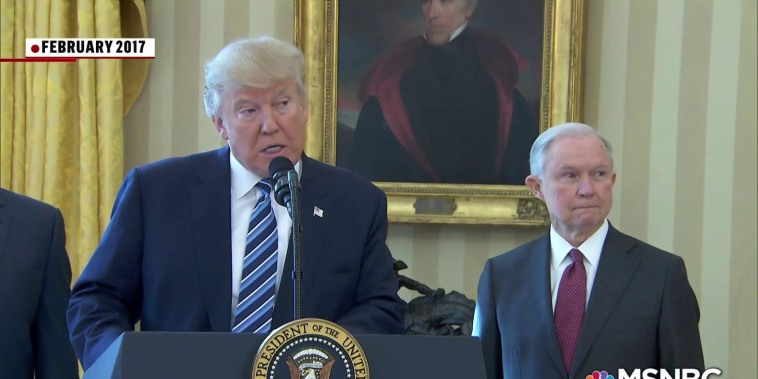 'So sad': Trump delivers harshest blow yet to  Jeff Sessions