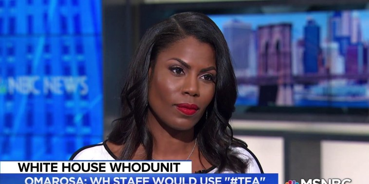 Omarosa: When President Trump did something that was 'unhinged' WH staffers used #TFA