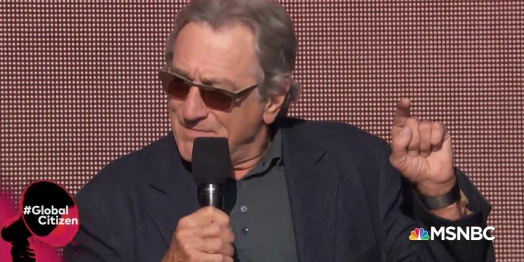 Robert DeNiro urges people to vote: 'You are the bosses'