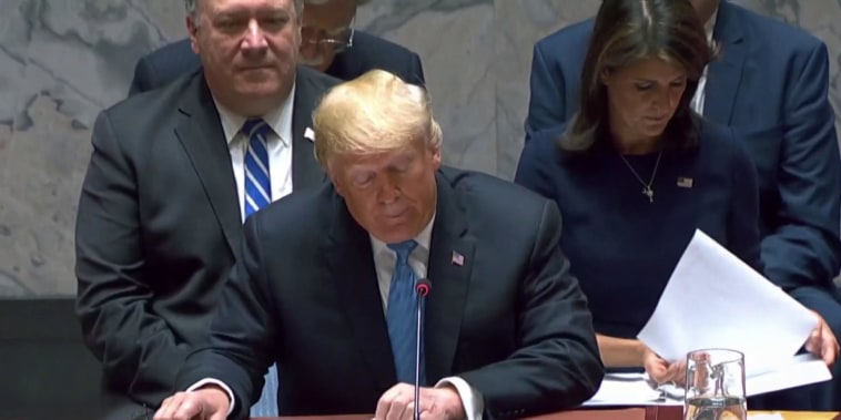 Trump at UN claims China is attempting to interfere in U.S. elections