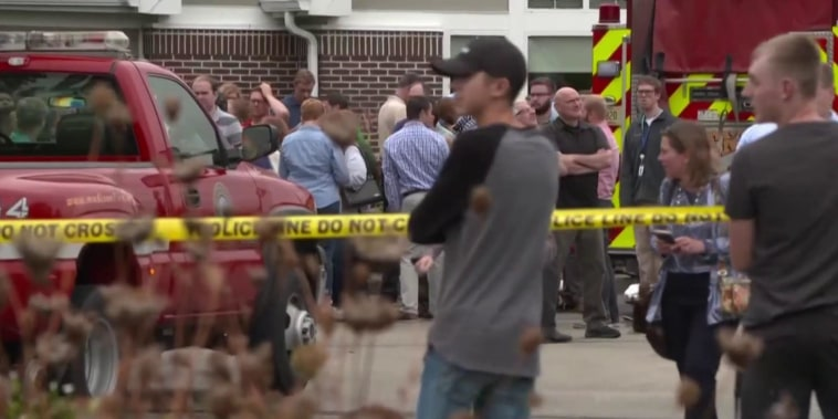 Several injured in shooting at Wisconsin workplace