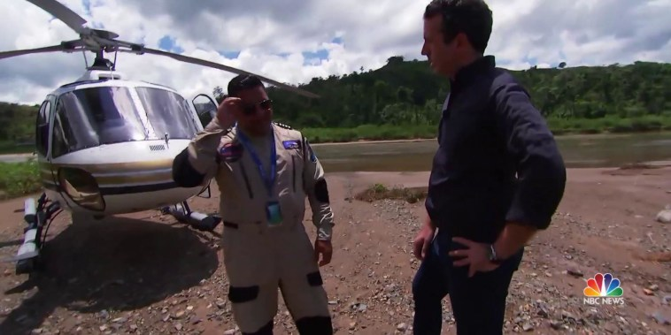 Meet the helicopter pilot who saved lives during Hurricane Maria