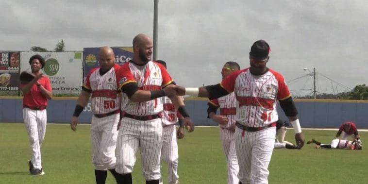 Baseball brings hope and unity to Puerto Rico after Hurricane Maria
