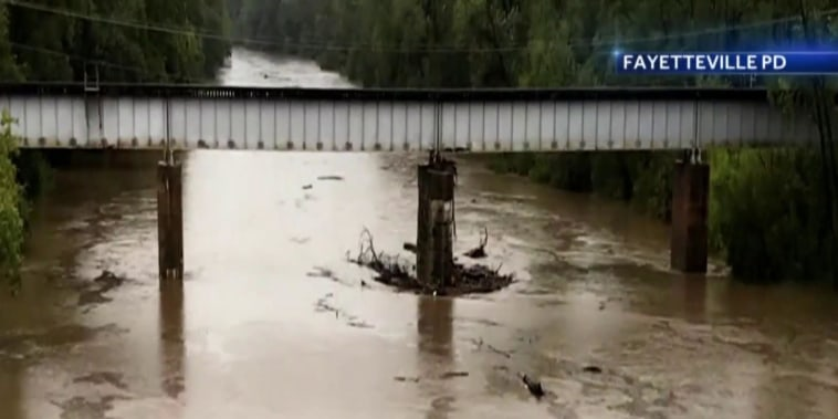Fears of major flooding in aftermath of Florence