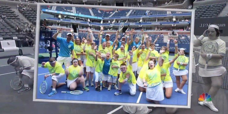 'Buddy Up Tennis' gives young athletes chance of a lifetime at U.S. Open
