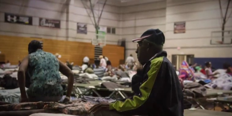 Families forced to evacuate to shelters face uncertainty as Hurricane Florence closes in